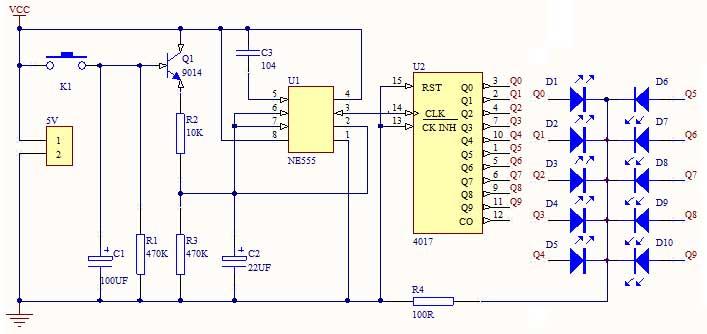 振荡器电路符号